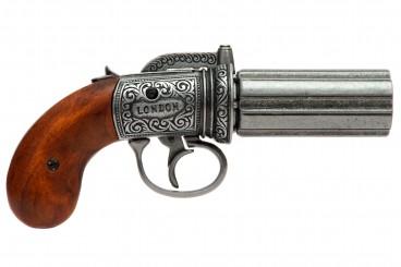 Revolver 6 canons, Angleterre 1840