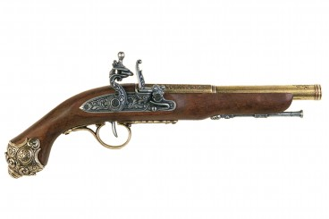 Pistolet à silex, 18ème siècle