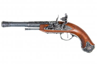 Pistolet à silex (gaucher), Inde S.XVIII.