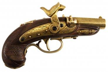 Percussion Philadelphia Deringer pistol, USA 1862
