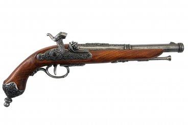 Pistolet à percussion, Brescia (Italie) 1825