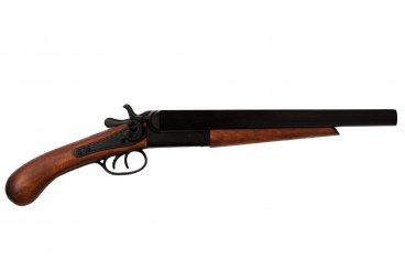 Pistolet double Canon, USA 1868 Recadré, USA 1868