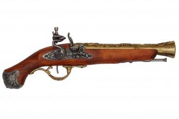 Pistolet à silex Angleterre S.XVIII