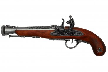 Pistolet pirate, S.XVIII (gaucher)