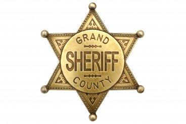 Badge de Sheriff Grand County