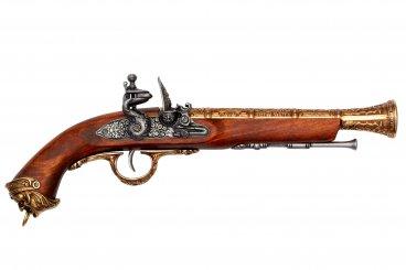 Pistolet pirate, Italie S.XVIII